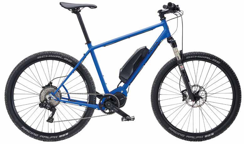 Das PATRIA Graveller Hybrid ist die unterstützte Version des Graveller - ein E-Bike für alle Wege, auch mit Touren-Ausrüstung zu haben.