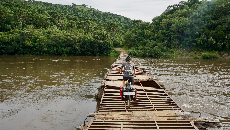 Einmal um die Welt, für Wasser-Geld: Die Route von Mathis Biermann.