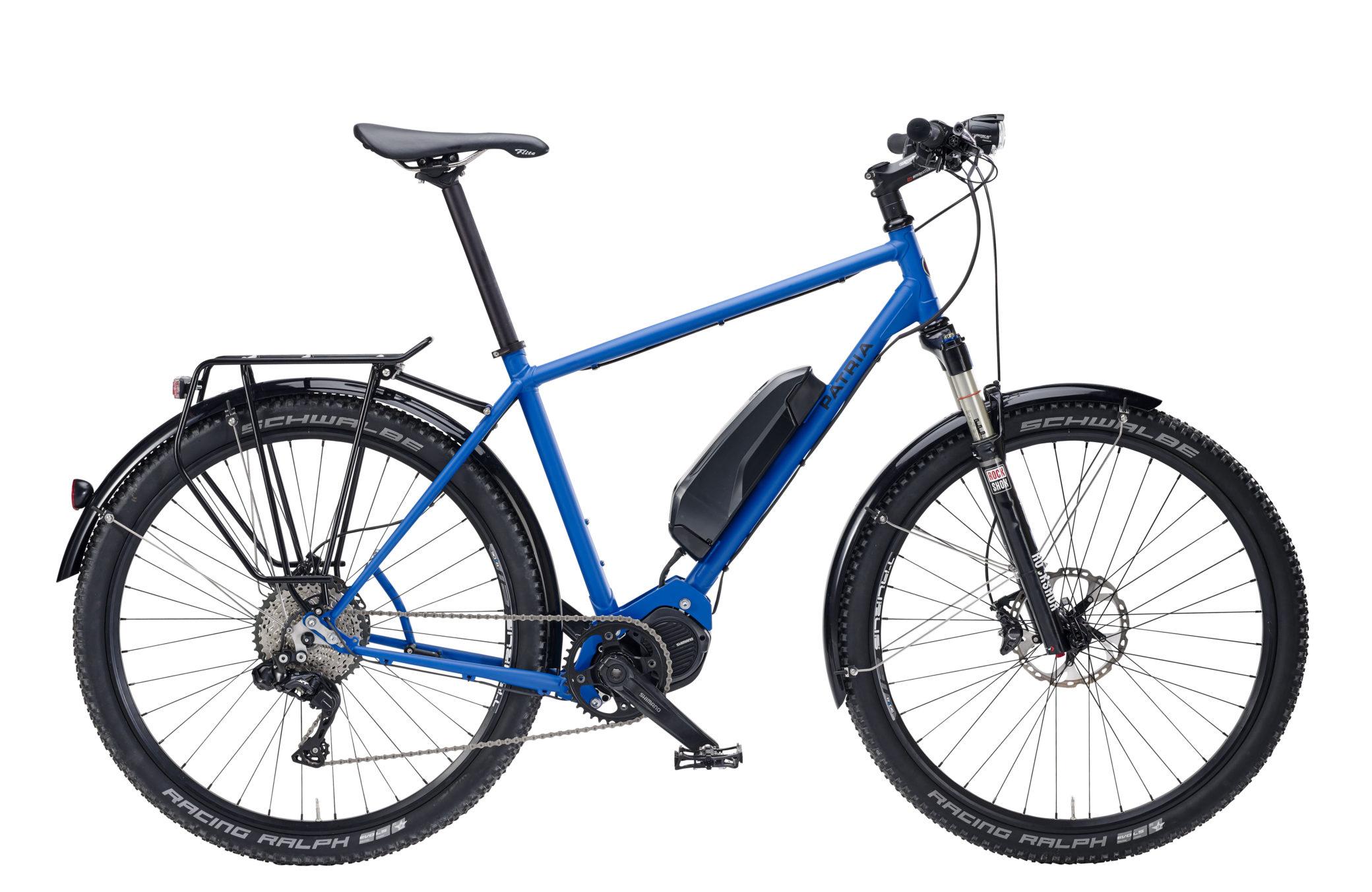 Graveller Road Hybrid, XT Di2 11-Gang, Sonderausstattung: Rahmenfarbe RAL 5010 Enzianblau matt