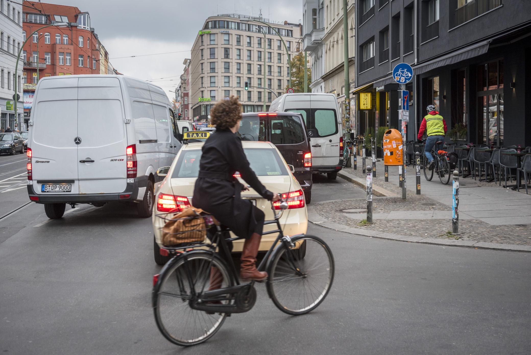Fahrrad-Infrastruktur: nicht überall zufriedenstellend