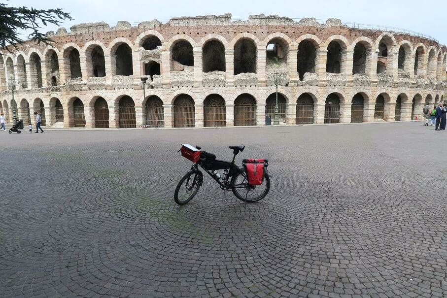 Auch nicht schlecht: Die Arena von Verona
